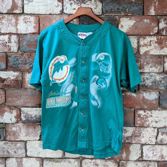 finest selection af3b3 21b82 low price miami dolphins baseball jersey df2cf c5285